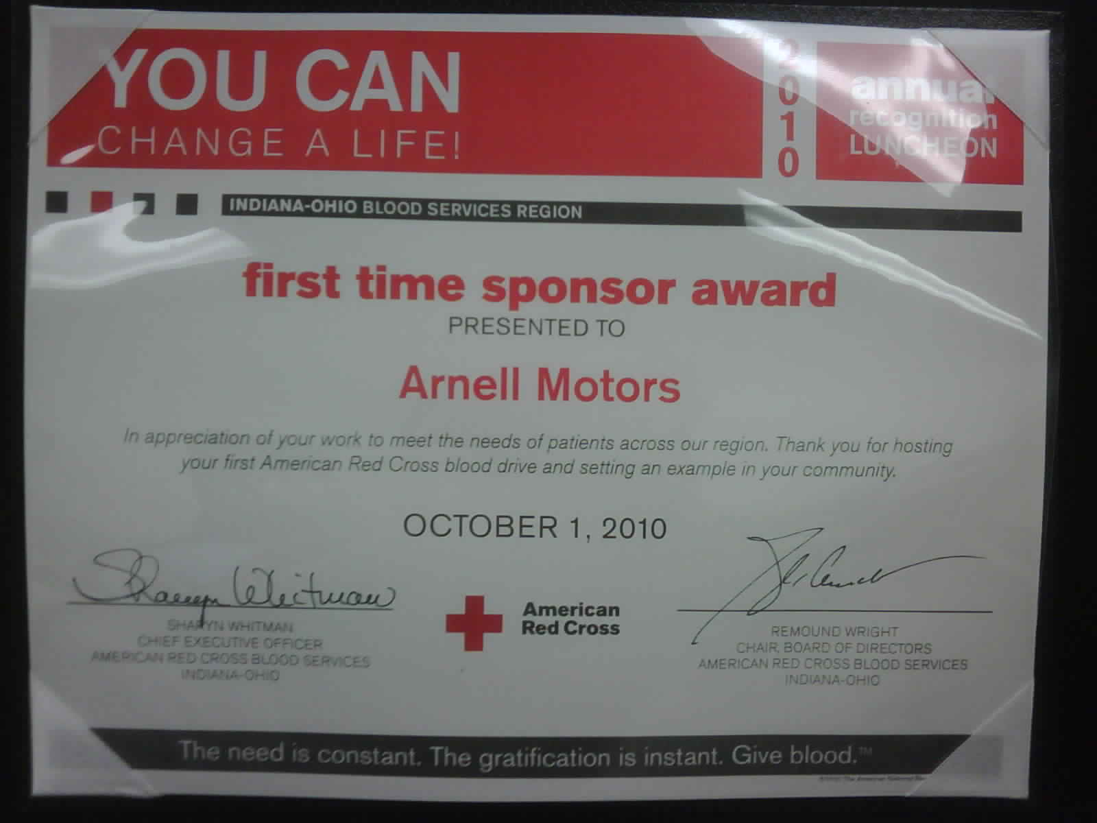 You Always Save More On I 94 American Red Cross Awards