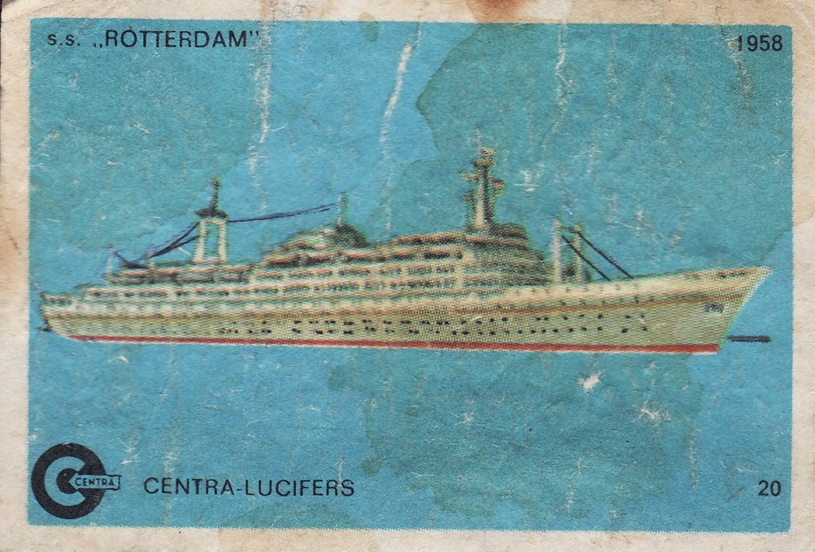 MATCHBOXES AND LABELS COLLECTION: MATCHBOX LABELS - BOAT AND SHIP