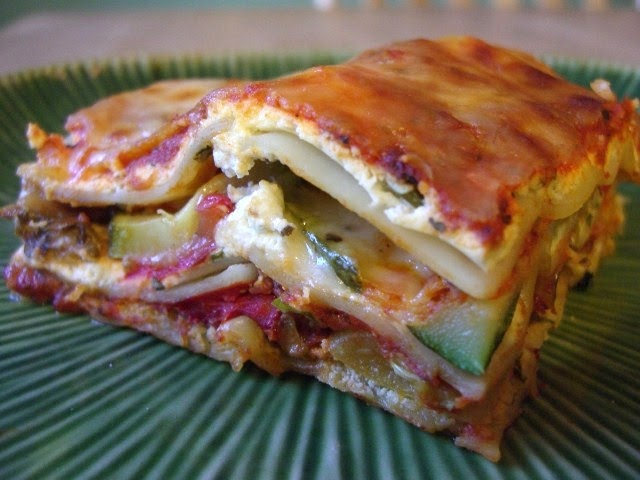Dinners for a Year and Beyond: Roasted Vegetable Lasagna