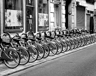 urban bike sharing system in London