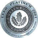 LEED platinum certification badge
