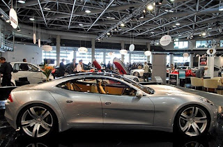 Fisker Karma from the 2008 Top Marques Monaco