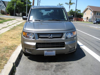 2007 gray Honda Element SC