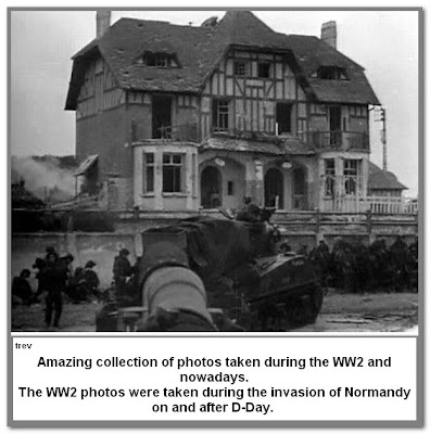Normandy - Then & Now 1 of 4