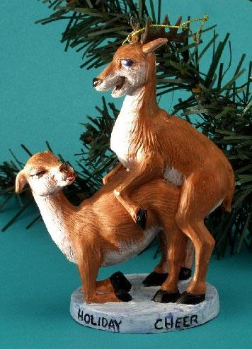Adult Christmas Ornaments - Part 1 of 3. Posted by SydesJokes at 11:00 AM