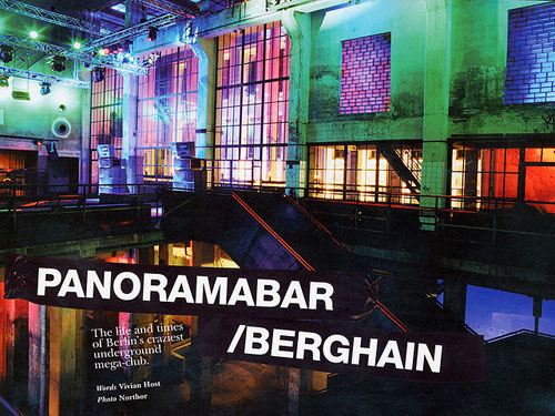 panorama bar berlin. Panorama Bar 9pm NYD. Wow.
