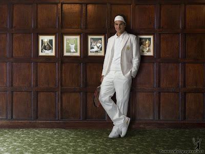 Roger federer tennis poster wallpaper