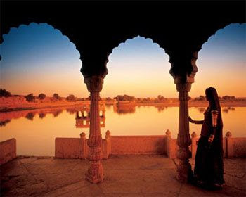 Jaisalmer fort stone india desert