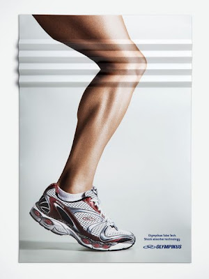 The Knee was created by DCS ad agency for OLYMPIKUS  SPORT SHOES (OLYMPIKUS company)Brazil