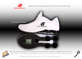 New Balance Shoe was established in 1906. It takes pride in its  innovation in shoe manufacturing.It has huge budget for advertising and  marketing