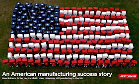 New Balance Shoes manufactures its shoes in US and does not source  it from different parts of the world