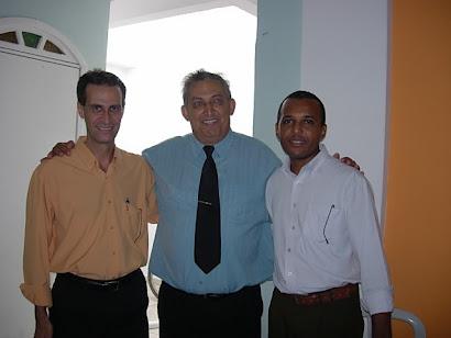 Aguinaldo Pereira, Pastores Milton Vianna e J. Filho.