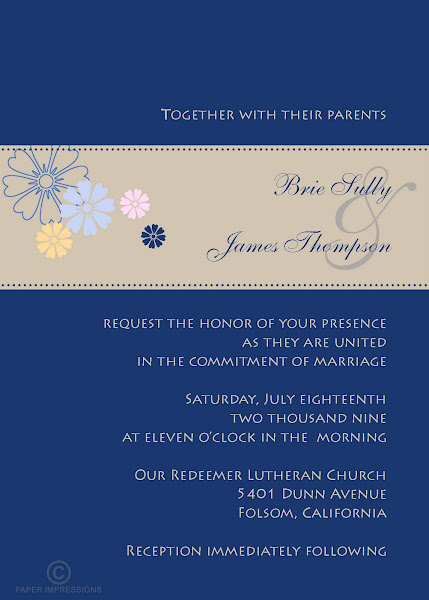 Clubhouse Wedding Invitation