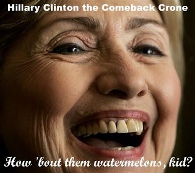 Hillary Clinton the comeback crone