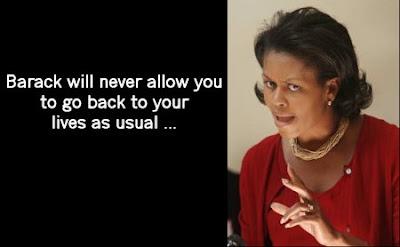 Michelle Obama, totalitarian idiot