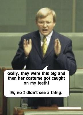 Kevin Rudd saw no lap dancers