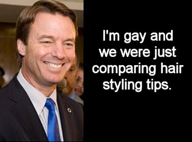 John Edwards excuse