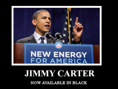 Barack Obama - Jimmy Carter now available in black