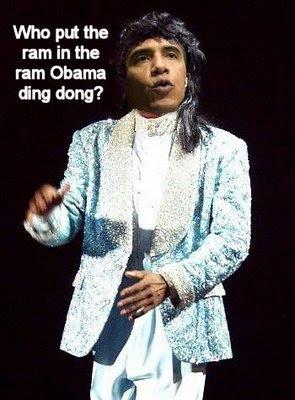 Obama rock concert