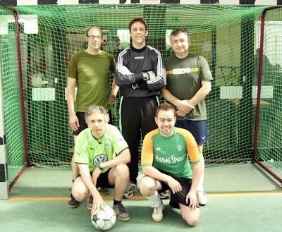SFC Hofgarten United: Zweiter Platz beim Endenich Cup 2009, Stefan, Oli, Sergiy, Rainer, David (Gerhard kam später dazu)