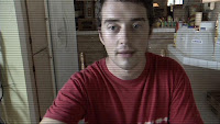 recording a vlog