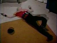 a vampire slave disintegrates