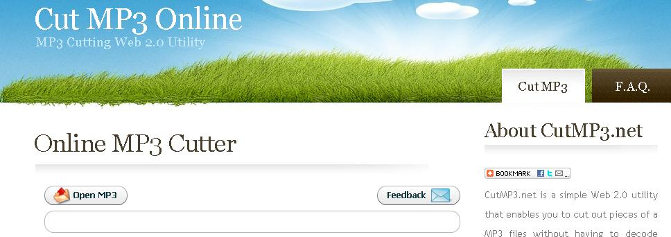 Modifier vos mp3 en ligne gratuitement zinfosweb - Couper une musique mp3 en ligne ...