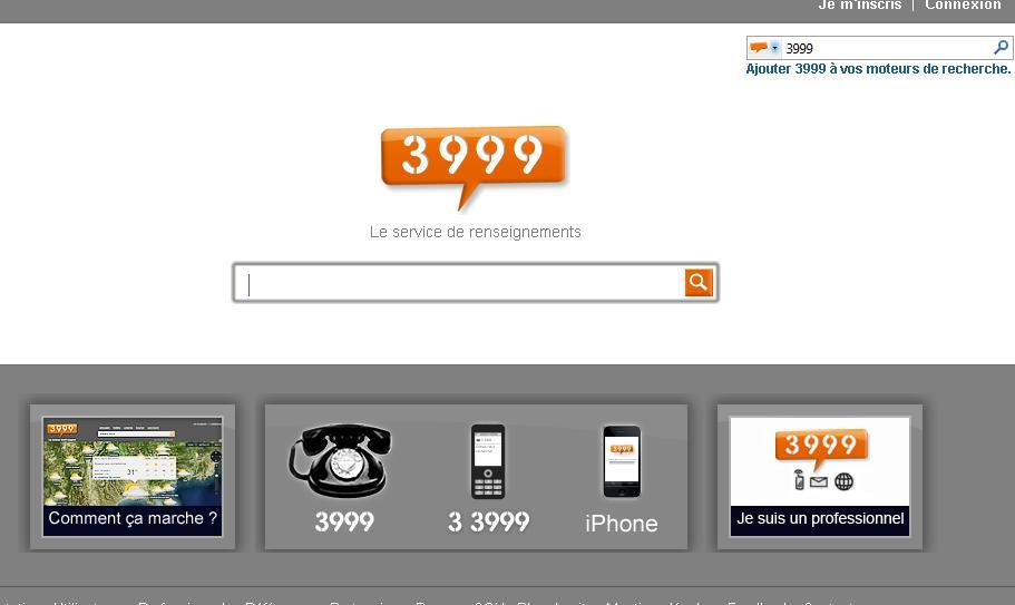 Super Service De Renseignements 3999 Zinfosweb