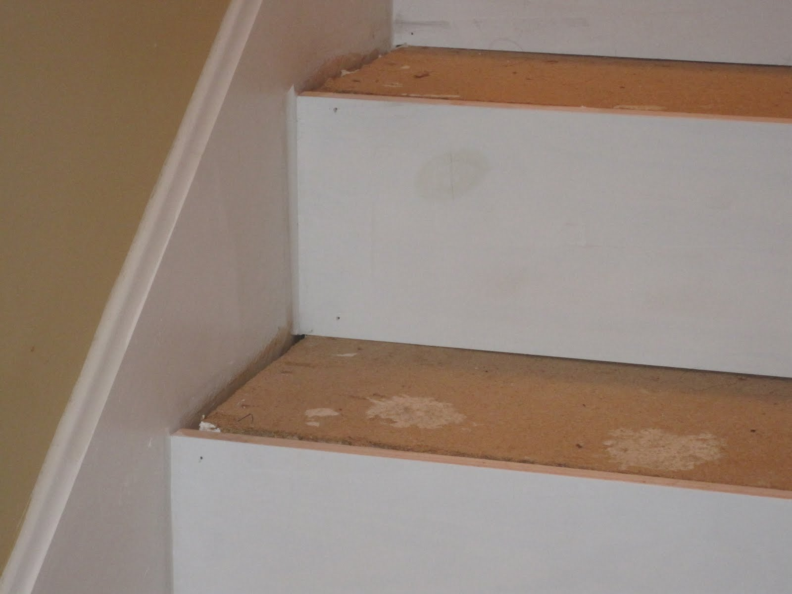 Stepladders and Stilettos Laminate Stairs Part 1