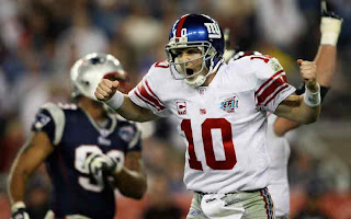 Eli Manning is happy to be out of the shadow of his older brother
