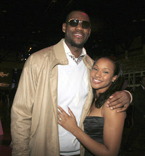 LeBron and his babymama again