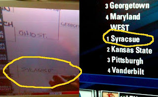 Obama screws up the spelling of Syracuse