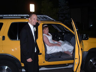 Mello Yello drove us home from our wedding