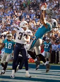 Dante Rosario plucks the game winning touchdown out of the air to beat the Chargers