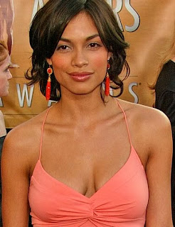 This is Rosario Dawson