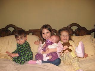 Chase, Cayla, Lyla and Jenna