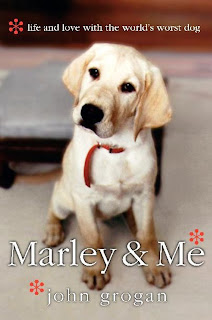 marley and me, one of my favorite books ever