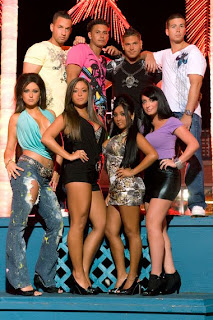 the cast of MTV's Jersey Shore