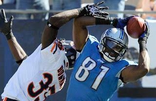 Calvin Johnson did not maintain possession all the way to the ground