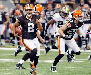browns punter reggie hodges runs for 68 yards on a fake