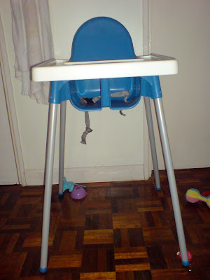baby plastic high chair