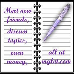 join myLot now and start earning moneyBLOGGER