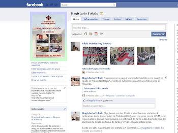 Facebook de la Facultad de Educación de Toledo