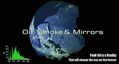 petroleo humo y reflejos