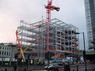 Central Library Construction
