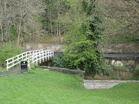 The White Bridge in Jesmond Dene