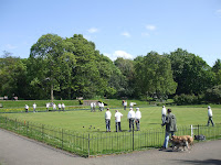 Bowls in Heaton Park