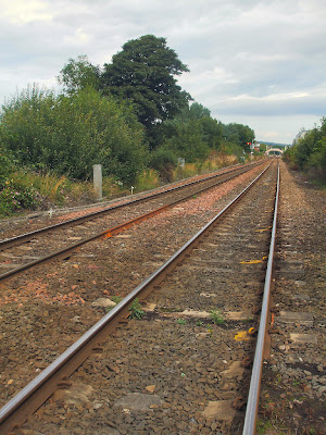Looking east towards Prudhoe Station