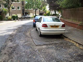Adderstone Crescent - Road Resurfacing Blooper