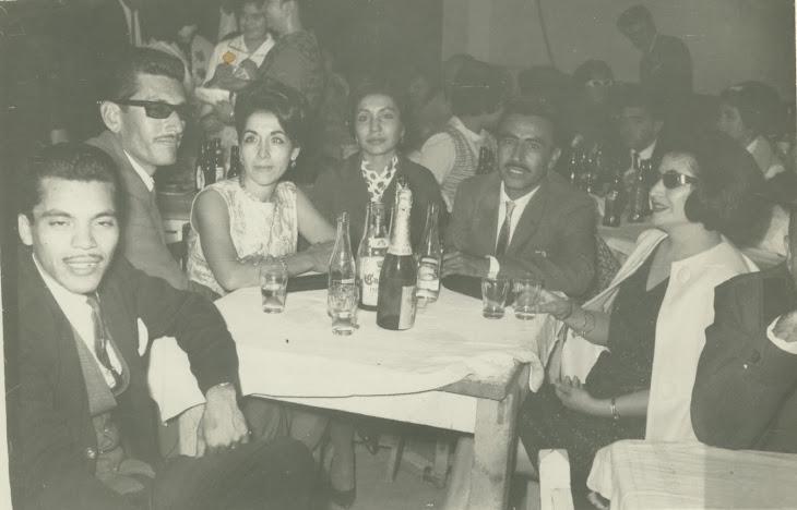 Fiesta de año nuevo en el Club Social de la Vieja Amistad en Eldorado